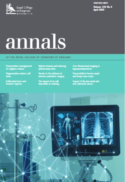 February 2020 Annals cover