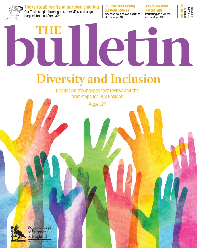Bulletin May issue cover