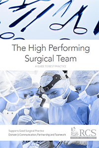 The High Performing Surgical Team A Guide To Best