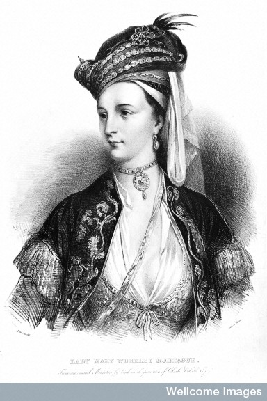 Wellcome Images - Lady Mary Wortley Montagu