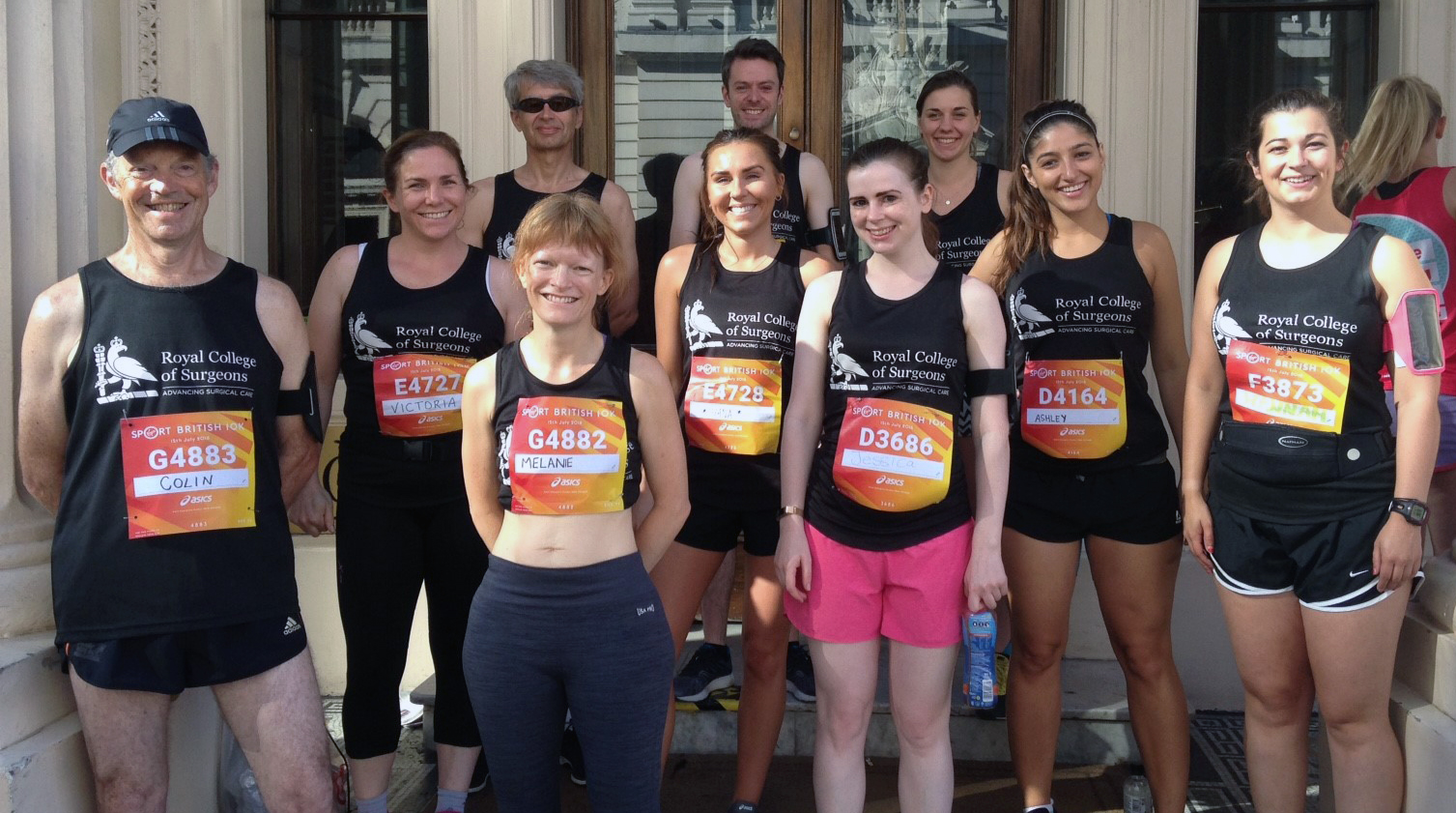RCS Team at the London 10km