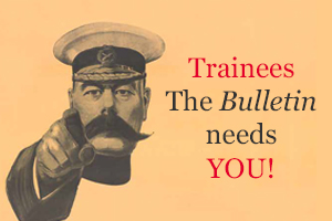 bulletin trainee writers poster