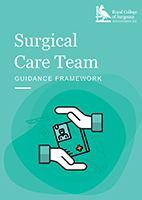 front cover of surgical care team guidance