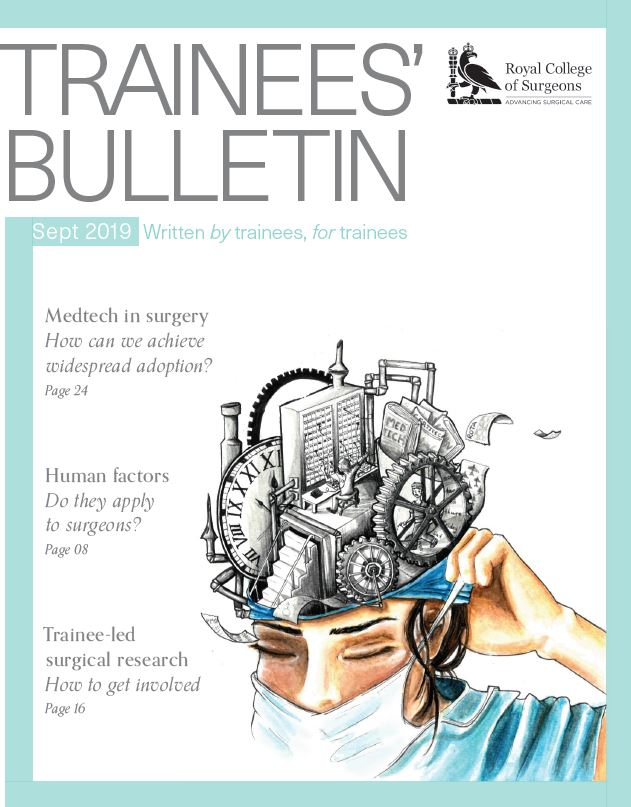 Front cover trainee Bulletin