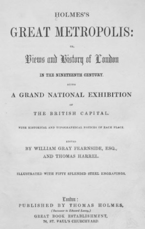 Holmes 1: Title page