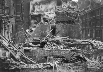 RCS bomb damage May 1941