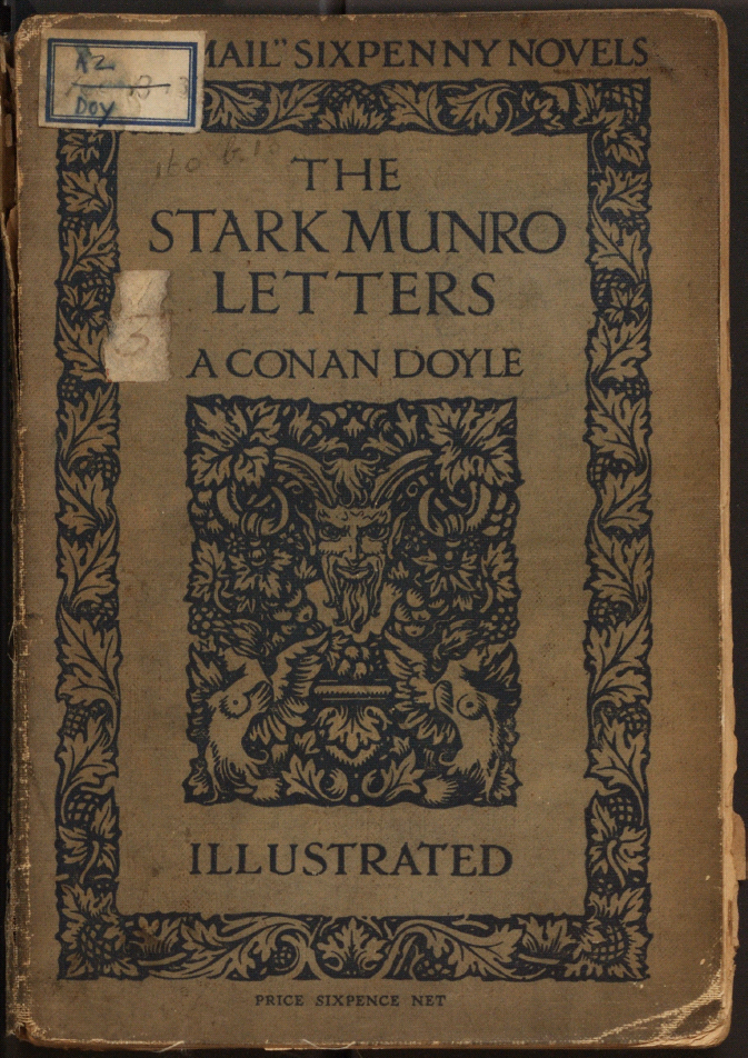 Cover of The Stark Munro Letters, 1895