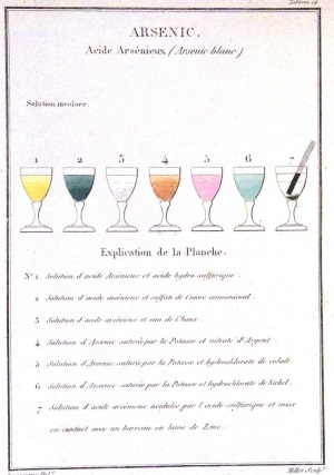 Arsenic 1: chemical French book