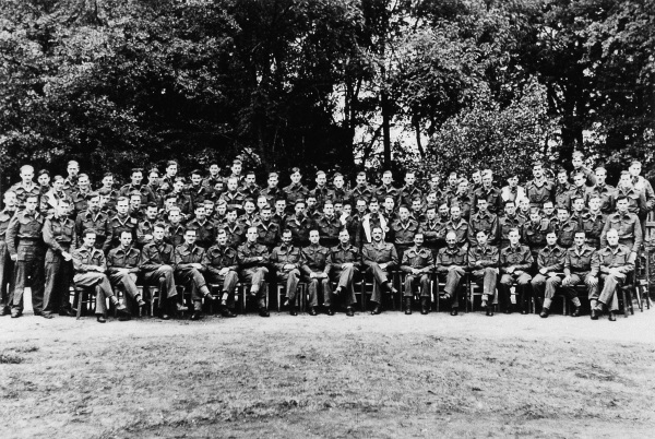 Holocaust Memorial Day 2021 1: Group photo of London Medical students who went to Belsen