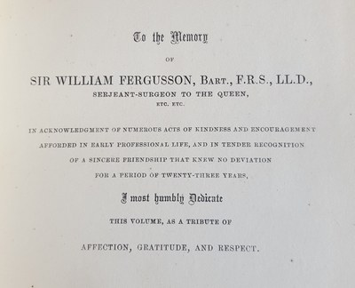 Mason's Dedication to Fergusson