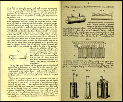 On the detection of needles and other steel instruments impacted in the human body