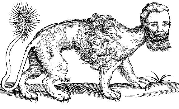 Topsell 3: the Manticore