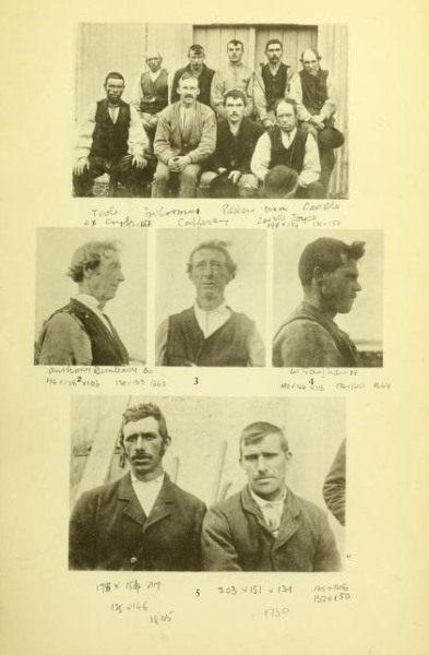 Men from the Mullet Peninsula , featured in Charles Browne's 1895 ethnographical account