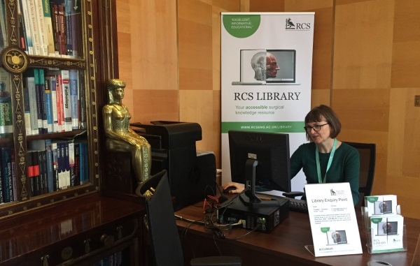 Year in review - Library enquiry point