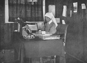 Matron MacLatchy in her office