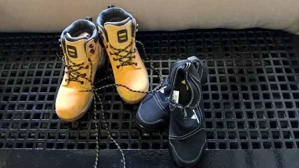 Numbers 4: Safety Boots