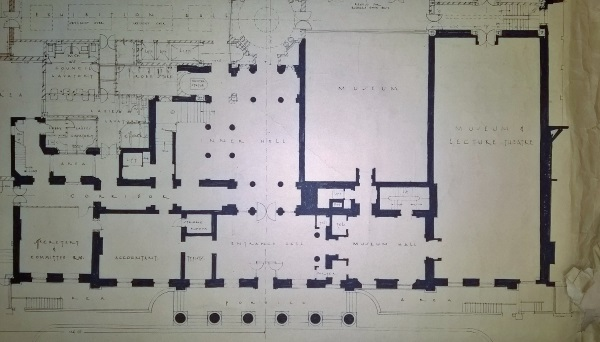 3 : plan of the building in 1949