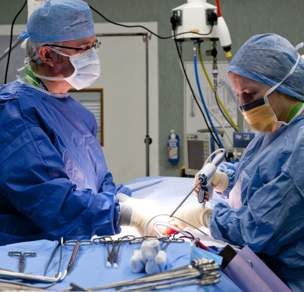 Surgical Attire 1: Surgeons operating