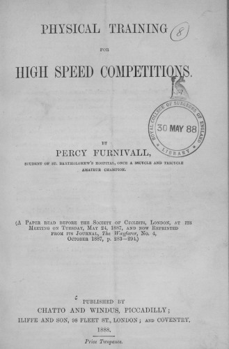 Furnivall 1 title page
