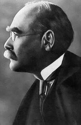 Rudyard Kipling; from Current History of the War v.I (December 1914). New York: New York Times Company; via Wikipedia out of copyright.