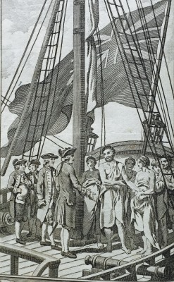 Cook's second voyage to 'Taheitee'