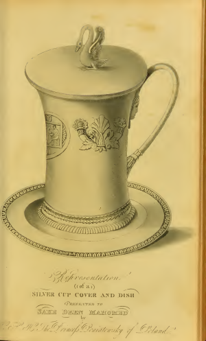 Shampooing: Princess Poniatowsky's silver cup