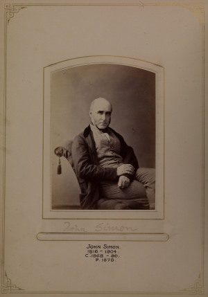 Sir John Simon; portrait from the Council Club Photograph Album