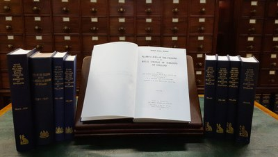 Plarr's Lives of the Fellows - the print volumes