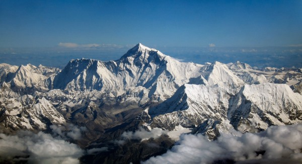 Wikipedia: File:Mount Everest as seen from Drukair2 PLW edit