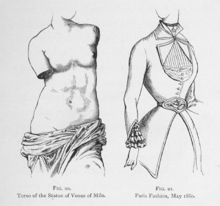 Image result for woman body deformed by corset